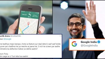 Google replied like a Boss when a Man asked Google to improve Maps