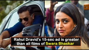 Rahul Dravid's new ad is greater than all films of Swara Bhaskar, watch the video