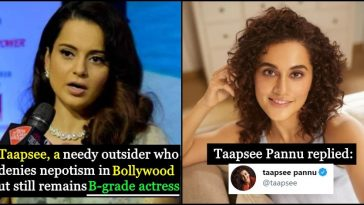 War of Words: Kangana calls Taapsee Pannu 'B-Grade actress'; Taapsee gets mad and gives a reply