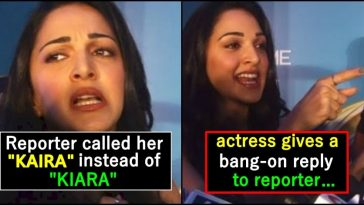 When Kiara Advani hits out at Journalist for Mispronouncing her name