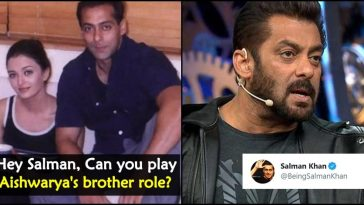 Salman Khan was asked to play Aishwarya Rai's brother role; this is how Bollywood Bhai replied!
