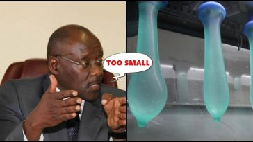 Made in China Condoms are too small, says the health Minister of this country