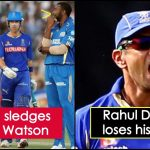 When Rahul Dravid lost his temper on Pollard for Watson send-off