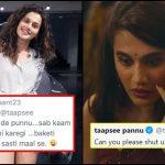 """Donate Your Car Instead Of Tweeting"" - Guy mocks Taapsee Pannu"