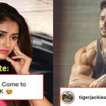 Tiger Shroff receives a marriage proposal from a fan in UK; check his hilarious response