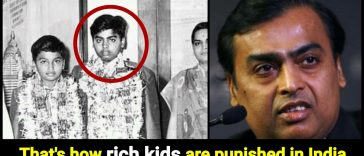 When Mukesh Ambani was 10yr old, father punished him with Roti and water only, because he did a terrible mistake