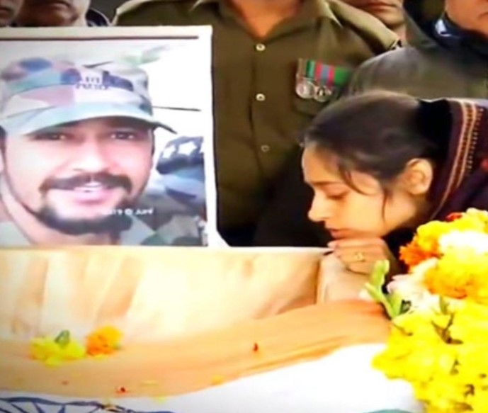 Husband Martyred in Terror attack in Pulwama, Wife becomes a high profile army officer