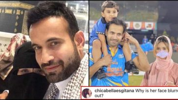 """""""Why is her face blurred?"""" - fan posts a hate tweet on Irfan Pathan's wife; she gives a savage reply!"""