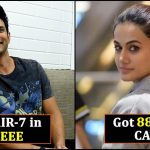 These celebrities were bright students; scored top marks in competitive exams