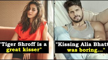 Celebrities who made honest statements on kissing their co-stars