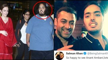 Anant Ambani lost 108 kg in 18 months, this is how Salman Khan reacted!