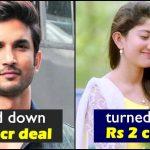 When Sushant Singh and Sai Pallavi turned down lucrative fairness endorsement deals