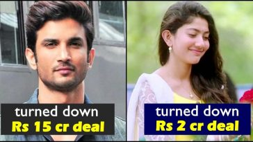 When Sushant Singh and Sai Pallavi turned down lucrative fairness endorsement deals