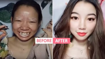 This Chinese girl took everyone by surprise with 'makeup transformation'