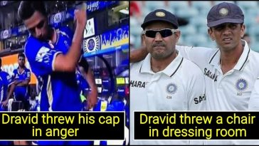 5 instances when Rahul Dravid sir lost his cool, we can't believe it