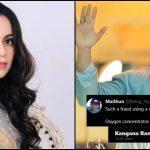 Kangana likes tweet calling Sonu Sood 'fraud', who is using a crisis to make money