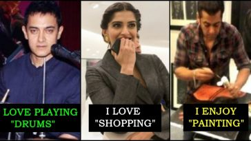 Here are some of the things that celebrities do in their free time