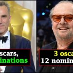 Actors with the most Oscar wins and nominations; check out the entire list