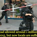3 killed, 5 seriously injured in Germany by Immigrant from Islamic nation Somali
