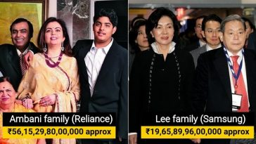 15 Richest families in Asia, their net worth is mind-blowing!