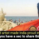 Throwback: When Indian Sand Artist Sudarsan Pattnaik won People's Choice Award in America