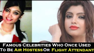 10 Big stars who started their career as Air Hostess!