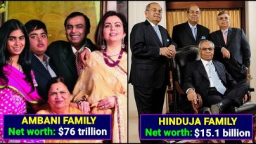 List of Richest families in Asia, check out No.1 and No.2