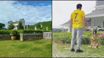 MS Dhoni's Ranchi farmhouse: See unseen pics of luxurious property