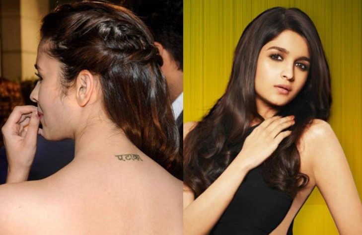 List of Bollywood celebs and their meaningful tattoos, check it out