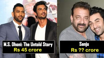 Here's how much popular personalities charged for their Biopics, read details
