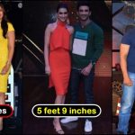 11 Bollywood actresses and their height, who is the shortest?