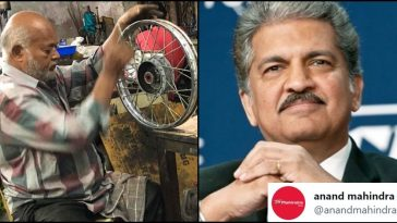 Anand Mahindra offers assistance to disabled man who makes vehicles out of E-Waste