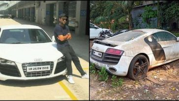 Multi-crore Audi R8 supercar once owned by Kohli is in pathetic condition!