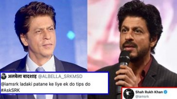 """A fan asked SRK """"How to woo girls?"""", he gave an awesome reply!"""