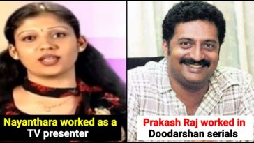 List of South Indian actors who started their career on TV