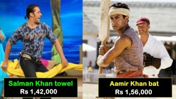 List of Bollywood items auctioned at unbelievable prices, it's crazy!