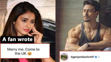 Tiger Shroff got a marriage proposal from a fan in UK; here's how he replied!