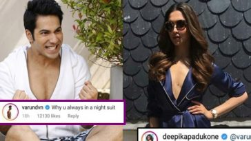 """Varun Dhawan asks Deepika """"Why Are You Always In A Night Suit"""", she gave a hilarious reply!"""