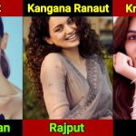 Finally it's public, full list of bollywood actress and their castes