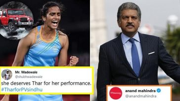 Anand Mahindra replies to Twitter user's demand of Thar for PV Sindhu after Olympic Bronze win