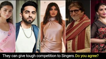 List of Bollywood Actors with Amazing Voice, they lent their voice to Songs, Films