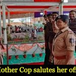 Mother salutes her son after he becomes police officer (DSP), their story will melt your heart
