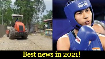 Govt starts building road to the village of the girl, who brought us Olympic medal