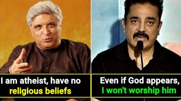 Celebrities who never believed in God or Religion, check out the list