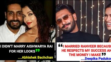 Bollywood Celebs honestly reveal why they married their sweethearts