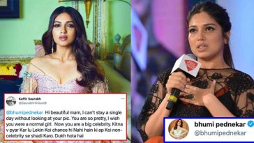 Fan romantically proposes to Bhumi Pednekar on Twitter; this is how she replied!