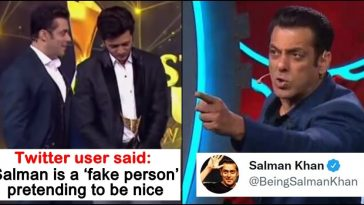 Twitter user calls Salman Khan 'Fake person', the Bollywood actor responds!