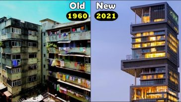 Quick comparison between Mukesh Ambani's Old home vs New home