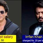 First Salary: Shah Rukh Khan vs Aamir Khan vs Irrfan Khan