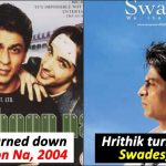 When Greek God Hrithik Roshan turned down 10 lucrative projects